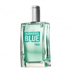 Туалетная вода Individual Blue Free для него, 100 мл, цитрус, зеленое яблоко, кедр